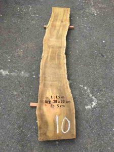 Planche en bois de tamarin 1,9 m