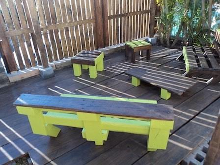 aménagement de jardin - mobilier