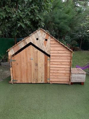 Cabane originale pour enfant