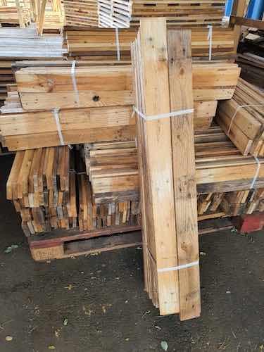 Lot de 25 planches en 100 cm - Largeur 7 cm