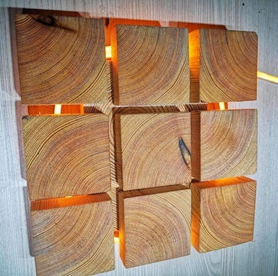 Lumiere design en cube palettes